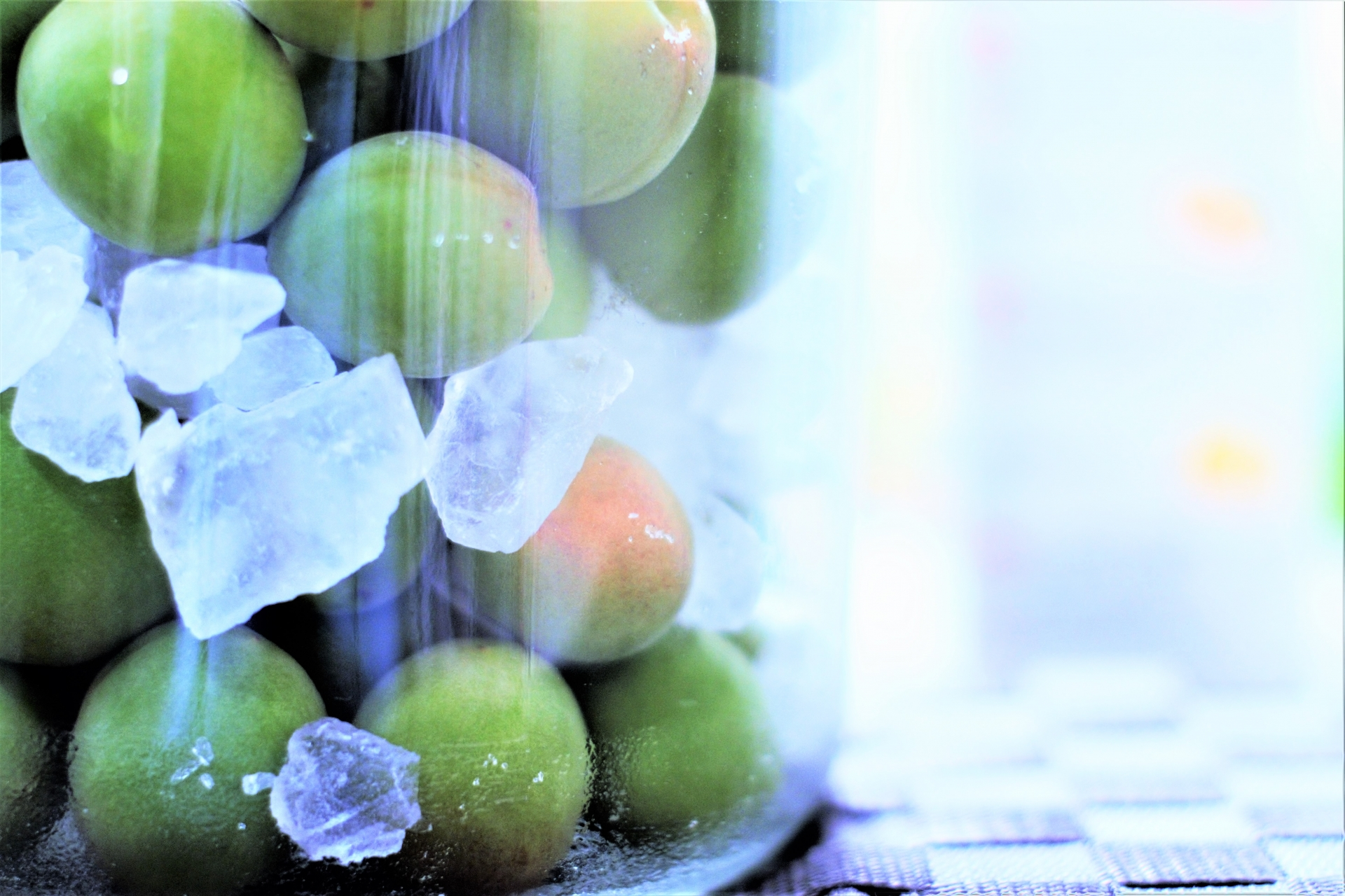 梅シロップには「青い梅」でも「黄色い梅」でも